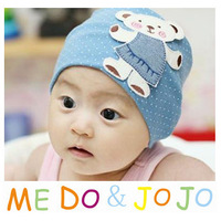 Infants and children set of head cap children hat cartoon Winnie the bonnet patch cap infant / child hat