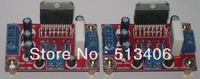 Free Shipping 5sets /LOT TDA7293 (1+1)  Dual Channels Stereo Amplifier Soldered Kit Board 85W+85W AMP Assembled