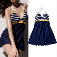 Sexy Swimwear Ladies Skirt Beach Swimming Wear Swimdress