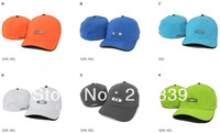 Hot!!! High quality brand flexfit gascan caps fashion men fitted hats, 9 colours, size: S/M, M/L, can mixed order+Free shipping!