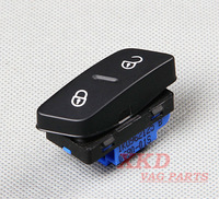 OEM Diver Side Central Door Lock/Unlock Button Switch Fit for VW Jetta 5 Golf 5 GTI Mk5 MKV Rabbit LHD 1K0 962 125 B