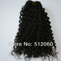 "Virgin Indian hair human hair extensions, Indian deep curly,100% cuticle, natural color,4pcs/lot 12-30"",DHL free shipping"