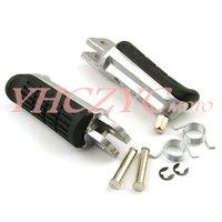Motorcycle pedal Fit HONDA NT400 NT650 NTV650 NT700 CB500 CBF600 CBF1000   Front  Footrest Free shipping