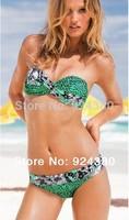 14 sexy floral print bikini set brief design women swimwear  size S/M/L