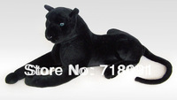 2PCS 5% OFF,Free Shipping,Plush And Stuffed Life-Like Toy Leopard, Lying Prone Posture Artificial,35cm,1pc