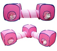cat  Kitten Toys For Cat Huge Play Collapsible 1 Tunnel & 1 Cubes Cats Accessory Supplies Pet Playing Tunnels