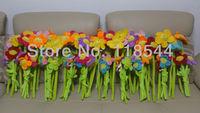 "13"" plush sunflower 33cm plush flower  curtain buckle  multifunctional flower 33CM one lot free shiping"