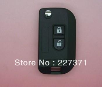 2013 new freeshipping Flip Remote Key Shell Case Modify For Nissan K12 Note Navara Qashqai Micra 2BT
