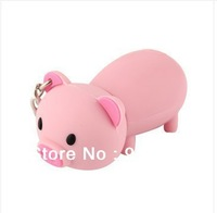Free Shipping / Another on personalized piggy cartoon 8G U disk lovely creative authentic special/ USB Flash Drives   U035