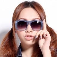 2013 I-bright Korean star style sunglasses woman fashion glasses eyewear European and American retro frame free shipping