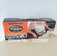 Free Shipping 10pcs/lot Vibro shape Belt  Body Building Belt For  Health Body Shape Slimming Belt Massager Belt  As Seen On TV