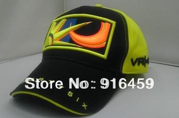 Free Shipping Snapback VR46 Yellow black hip-hop Baseball F1 Car Motorcycle racing Sport Fashion cotton hat cap