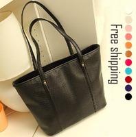 2014 new brand designer CROCO women PU Leather handbags bags,Tote Fashion Luxury Ladies Shoulder Bag,women bolsas