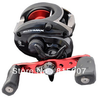 Free Shipping, New, Abu Garcia BLACK MAX BMAX2 4+1BB Baitcasting fishing reel (right)