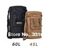 Tactical backpack bag double-shoulder camping backpack multi-purpose shoulder bag handbag hot-selling rain cover