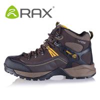 Rax slip-resistant walking Shoes Hiking Trekking  Waterproof Climbing  Outdoor Shoes Man EUR Size:39-44 Color:Black/Chocolate