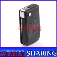 Free Shipping  Lifan zd200 620 folding key remote control modified shell Car case