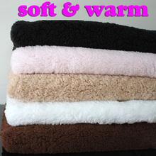 Ultro soft sherpa fleece Lamb fur fabric, berber fleece  fabric, lining cloth handmade dolls Sold by the yard, Free Shipping(China (Mainland))