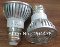 High Brightness E27 3W Led  Spotlight ,Led Bulb E27 3w, Epistar Led chip,2 years warranty,Free Shipping,M.o.Q: 1pcs
