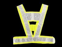 Super reflective vest  overalls v-reflective clothing