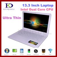 13.3 Inch Ultrabook Laptop Notebook, 2GB RAM+160GB HDD, Intel Atom D2500 Dual Core CPU, WIFI, Webcam, Mini HDMI