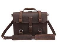 Free Shipping Crazy Horse Leather Men's Backpacks Travel Bag Totes Huge  #7072R-1