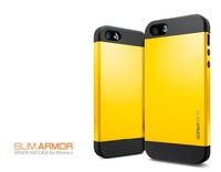 New Arrival! Free Shipping Style SLIM ARMOR SPIGEN SGP Case Color Cover For iphone 4 4s case luxury