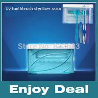 SG103A Toothbrush UV Sterilizer anitizer Cleaner Holder Uv toothbrush sterilizer razor