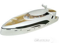 RC Boat,GL302AP 26cc Gas Powered Large Boats Pearl Luxury Yacht 1300GP260-RTR(Pistol Transmitter) RC toy