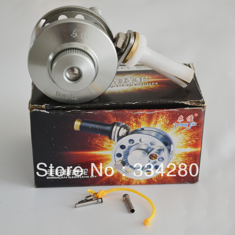 100% authentic Guaranteed 50mm former fish reel fishing reels round fishing raft shot of the rod refires connected to round(China (Mainland))