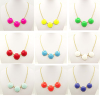 2013 free shipping new  bubble necklace wholesale  simple fashion design 24 pcs /lot