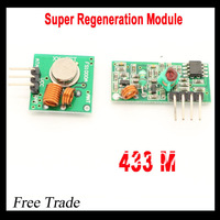 Free shiping !!& Best prices 1 pair (2pcs)433Mhz RF transmitter and receiver link kit for Arduino/ARM/MCU WL