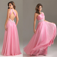 DESIGAN !!!Woman's One Shoulder Party Gown Prom Bridal Evening Dress LF005 vestido de festa longo