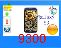 free shipping SMDK4*12!mtk 6577 atest and best, fashion dual core Android 4.19GPSI9300 phone 1.5GHz 4.8 'Screen(TAI)