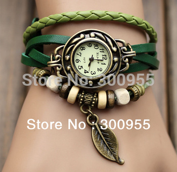 Free shipping Fashion Wristwatch Classic Leather Strap Roma Number Dial Quartz Woman Lady  Watch Free Shipping WHS1