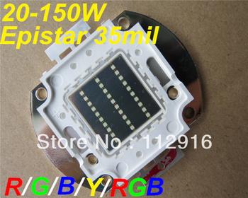 30W 40w 50W  60w high power led bulb light red green blue yellow purple uv  rgb led chip epistar power 35mil COB led chips