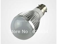 5w LED bulb,Dimmable Bubble Ball Bulb AC85-265V ,E14 E27 B22 ,silver/gold shell color,warm/cool white,4pcs/lot+freeshipping