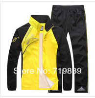 Free Shipping+Low Price Men's Sportswear Set, Brand SportsSuits for Men,High Quality Material Sports Jacket ,Couple Style