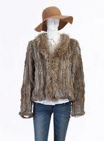 high quality 2013 Brand New Rabbit fur Jacket 100% Natural Rabbit fur Coat In stock