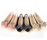 Fashion round toe flat 2013 platform shoes flat heel shoes female shoes casual shoes