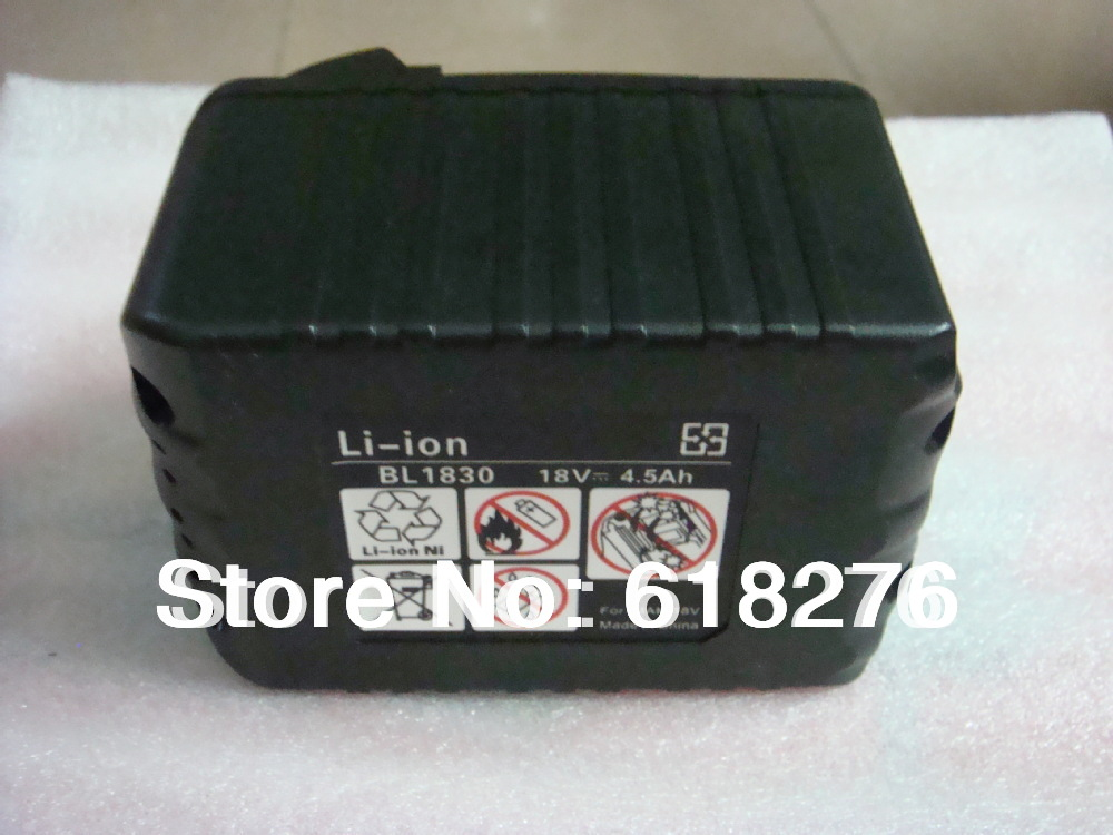 Brand New BL1830 Makita 18V 4.5Ah High Capacity Replacement Battery
