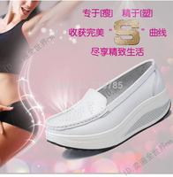 WA !! 19 TYPES Fashion  shoes women  leather shoes platform swing sports platform wedges shoes work shoes