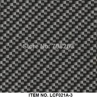 Carbon Fiber Hydro graphics film Item NO. LCF021A-3
