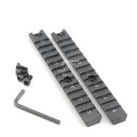 JJ Airsoft G36 Picatinny Rail Set Long Type (2PCS) G36 Rail System