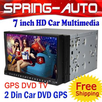 "FREE SHIPPING Aliexpress SALE 1 Din 7"" Car PC Radio Multimedia DVD 2611MX 800Mhz CPU+256M DDR+4G+GPS +IPOD,1080P Video Analog TV"