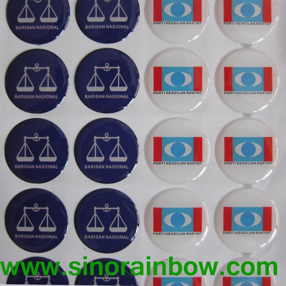 3D Customized Dome Stickers(China (Mainland))