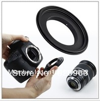 100% Guarantee 52 mm  Aluminum  new Macro Reverse Adapter Ring for Canon EOS EF/EF-S Mount  free shipping + tracking number