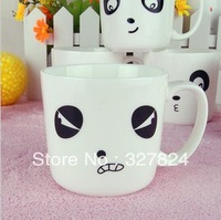 free shipping new arrivals kawaii personalized ceramic mug 4pcs/set  four different cute Expression milk coffee cups bone china