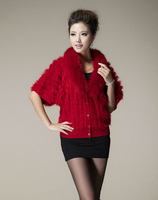 real rabbit fur capes shawl stole cape wrap wraps poncho shawls for winter