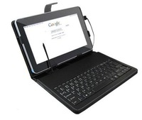 Stylish Leather Stand Case For Microsoft Surface Windows RT Cover With USB Keyboard